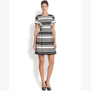 Shoshanna Porter Road Ponte Striped Dress 4